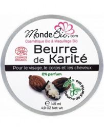 Monde du Bio Beurre de Karité bio 145 gr
