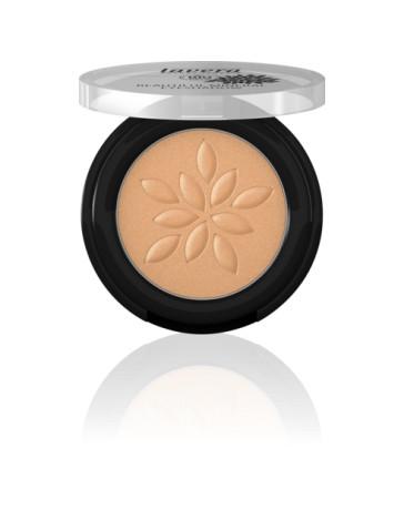 Pharma 5 avenue Fard à paupières minéral poudre compactée Golden Cooper 24,2g Lavera - produit de maquillage bio