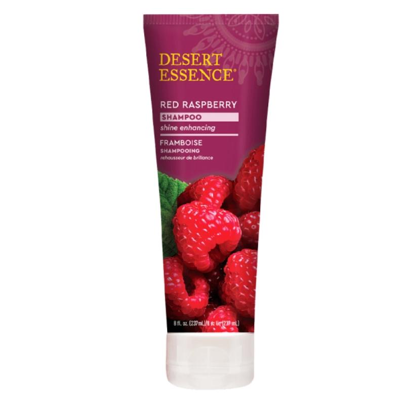Pharma5avenue Shampooing à la framboise 237 ml Desert Essence - produit d'hygiène capillaire BIO US