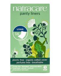 16 protèges slip naturels incurvés longs 16 unités Natracare - produit d'hygiène féminine Pharma 5 avenue