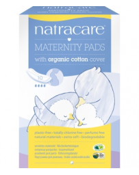 Serviettes de maternité Lot de 10 Natracare - lot de protections postpartum - Pharma5 avenue