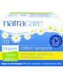 Tampons normaux sans applicateur Lot de 10 Natracare - lot de tampons périodiques sans applicateur