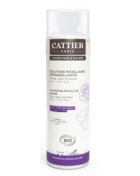 Perle d'Eau Solution Micellaire Démaquillante Rose Aloe 300ml Cattier - produit pour le soin du visage