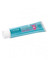 Dentifrice enfants 2 à 6 ans sans fluor goût framboise 50ml Cattier - produit de nettoyage pour les dents