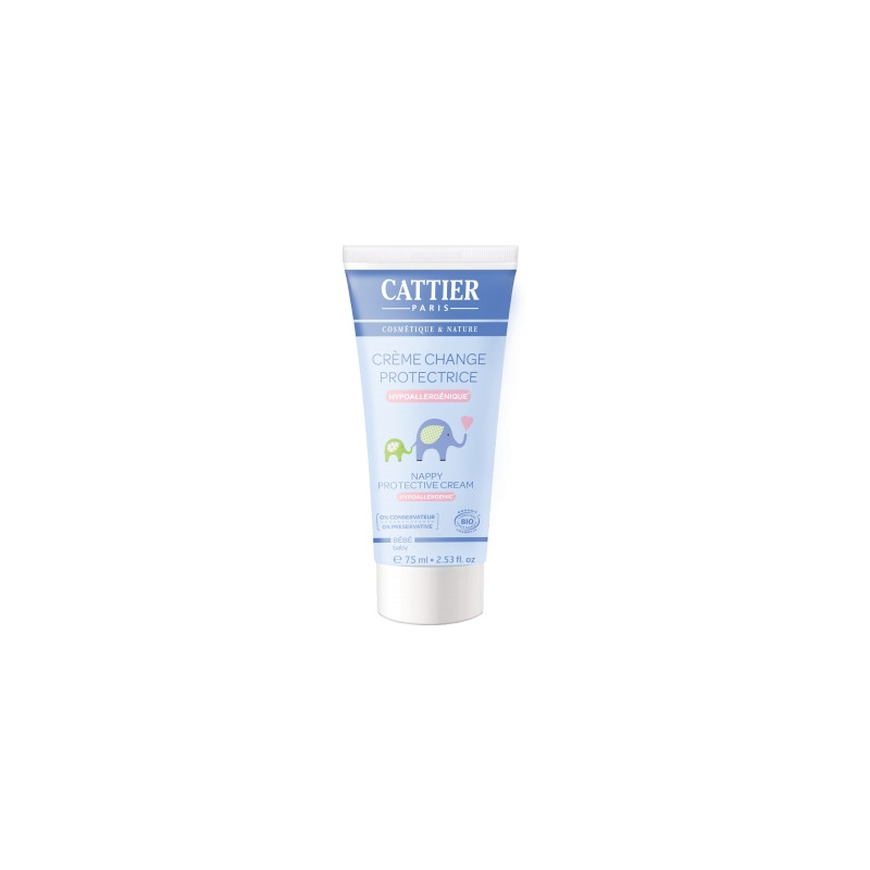 Crème pour le change bébé Abricot Ximénia 75ml Cattier - cosmétique bio et naturel