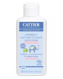 Liniment Lait nettoyant pour le change 200ml Cattier - cosmétique bio