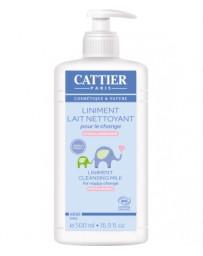 Liniment Lait nettoyant pour le change 500ml Cattier - cosmétique bio