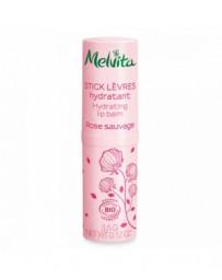 Melvita Stick lèvres hydratant Rose Sauvage 3,5g