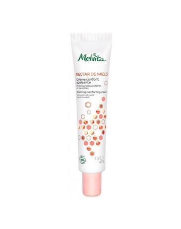 Crème confort apaisante 40ml Melvita - cosmétique biologique