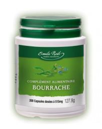 Huile de Bourrache Bio 200 capsules dosées à 515mg Emma Noel - complément alimentaire bio et naturel