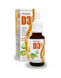 Vitamine D3++ huile 20ml D-plantes - complément alimentaire