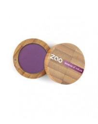 Ombre à Paupières 215 Violet pourpre mat 3g Zao - produit de maquillage biologique
