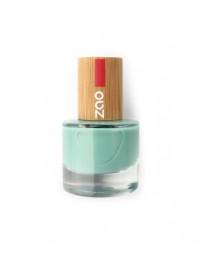 Vernis à ongles 660 Vert d'eau 8ml Zao - produit de maquillage biologique