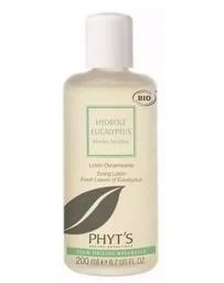 Hydrolé feuilles fraîches d'Eucalyptus 200ml Phyt's - produit de soin pour le corps