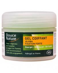 Gel coiffant fixation forte à l'huile de Jojoba 100ml Douce Nature - produit de soin pour les cheveux