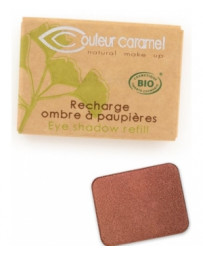 Recharge Ombre à paupières n°160 Pesca 1.3g Couleur Caramel - produit de maquillage biologique