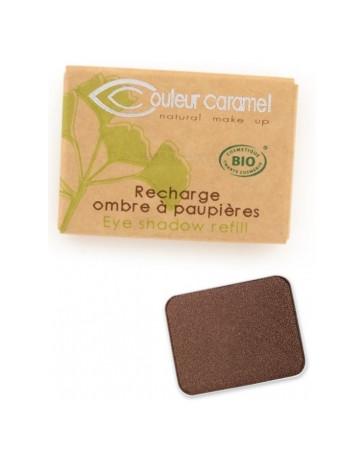 Recharge Ombre à paupières n°162 Marrone 1.3g Couleur Caramel - produit de maquillage biologique
