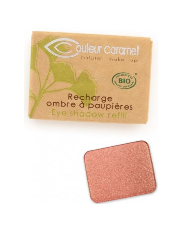 Recharge Ombre à paupières n°163 Siena 1.3g Couleur Caramel - produit de maquillage biologique