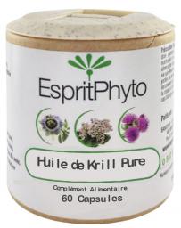 Esprit Phyto - Huile De Krill Pure - 60 Capsules - oméga 3 Pharma5avenue
