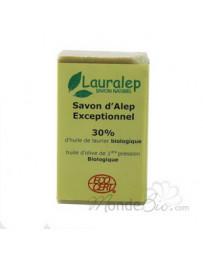 Savon d'Alep Exceptionnel 30% huile de Laurier 150g Lauralep - produit de nettoyage pour le corps