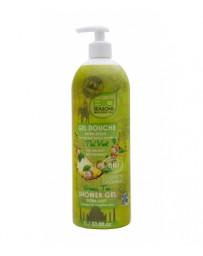 Gel douche Thé vert format familial 1 litre Bio Seasons - cosmétique bio