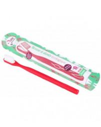 Brosse à dents écologique rechargeable Medium 1 pièce Lamazuna - accessoire d'hygiène dentaire