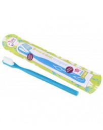 Brosse à dents écologique rechargeable Souple 1 pièce Lamazuna - accessoire d'hygiène dentaire