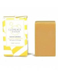 Savon à froid Le Saint Bernard Nourrissant 100g Clémence&Vivien - produit de nettoyage pour le corps