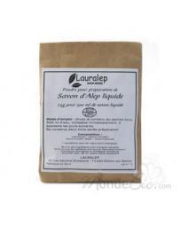 Préparation pour savon liquide d'Alep pour sachet de 500ml 25g Lauralep - produit de base pour le nettoyage du corps