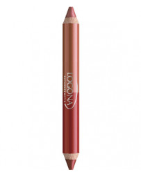 Logona Rouge à lèvres duo crayon n°5 Ruby Red 2.98g
