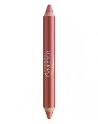 Logona Rouge à lèvres duo crayon n°7 Cherry 2.98g