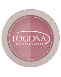 Fard à joues Blush duo n°1 Pink 10g Logona - produit de maquillage biologique