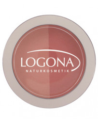 Fard à joues Blush duo n°2 Peach 10g Logona - produit de maquillage biologique