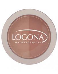 Fard à joues Blush duo n°3 Terra 10g Logona - produit de maquillage biologique