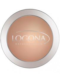Poudre compacte n°03 Sunny Beige 10g Logona - produit de maquillage biologique