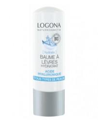 Baume à lèvres hydratant acide hyaluronique 4,5 g Logona - cosmétique biologique