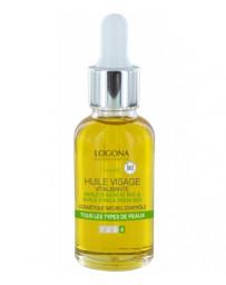 Huile vitalisante visage à l'avocat bio 30 ml Logona - cosmétique biologique