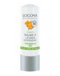 Baume à lèvres nourrissant Calendula bio 4,5 g Logona - cosmétique biologique