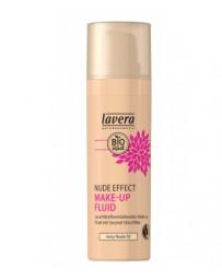Nude Effect make up fluid Ivory nude 02 30ml Lavera - cosmétique naturel