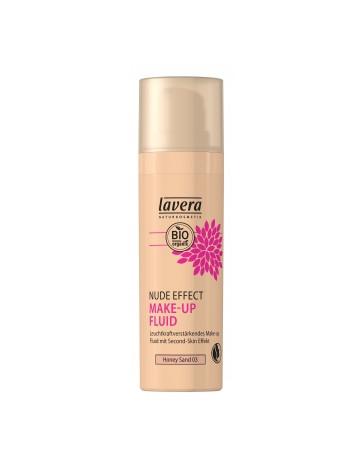 Nude Effect make up fluid HONEY Sand 03 30ml Lavera - produit de maquillage bio