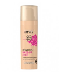 Nude Effect make up fluid Ivory light 01 30ml Lavera - produit de maquillage bio