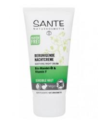 Crème de nuit apaisante 50 ml Sante - cosmétique biologique