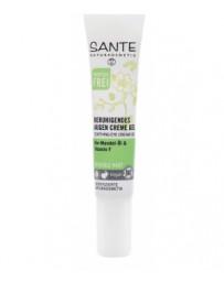Gel contour des yeux apaisant à l'amande douce et vitamine F 15 ml Sante - cosmétique biologique