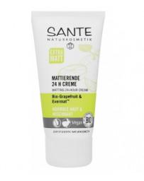 Crème matifiante 24h au pamplemousse 50 ml Sante - cosmétique biologique