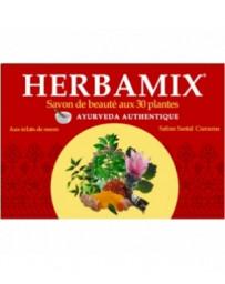 Savon ayurvédique Herbamix 30 plantes 125 gr Kerala Nature - soin nettoyant
