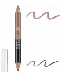 Avril Beauté Duo liner Noir charbon Fard Taupe nacré 2 gr Maquillage bio