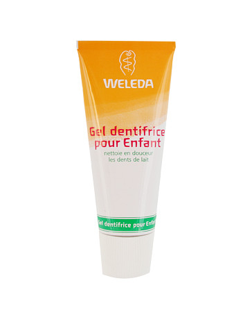 Weleda Gel dentifrice enfant dents de lait 50 ml, dentifrice bio, Pharma 5 avenue