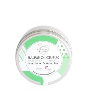 Clemence et Vivien Baume onctueux au lait d'amande 150 ml, beurre de karité bio