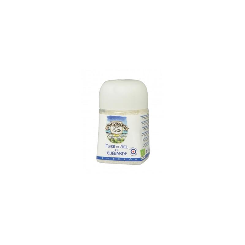 Fleur de Sel de Guérande pot végétal recharge de 70gr Provence d'Antan - condiment - sel