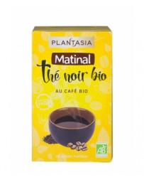 Plant Asia Thé noir Matinal au café Bio 20 sachets, pharma5avenue